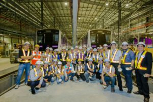 equipe ferroviaire bangkok