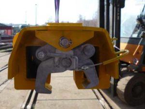 Palonnier de levage de rail téléscopique mécanique Ro-V288