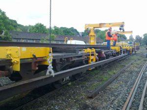 Portiques chargeurs de rails type CR3PR