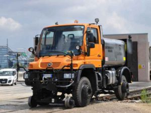 ROADRAIL VEHICLE UNIMOG