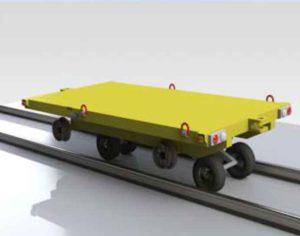 Railroad trolley