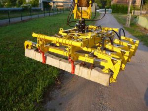 Sleepper laying beam model PTT 410