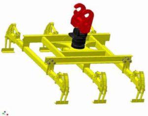 Specific rail loader