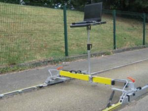 UOtrack measuring equipment