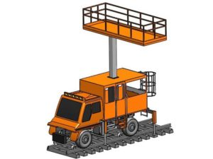 elevated plateform for unimog