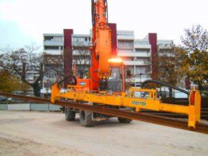 levage rail ferrovaire palonnier srb-20