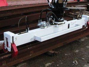 palonnier à rail hydraulique