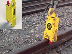 pince à rail hydraulique automatique arg08