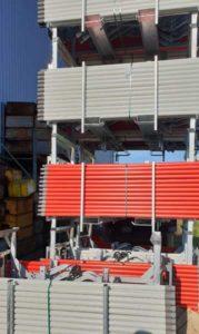 racks fixations magnétiques entreposage barrière sncf