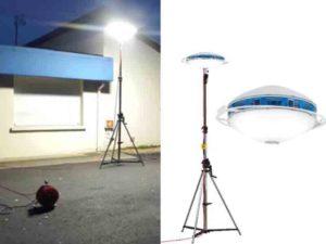 Projecteur POWERDISK eclairage sncf