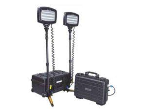 batterie pour projecteur portatif chantier solaris
