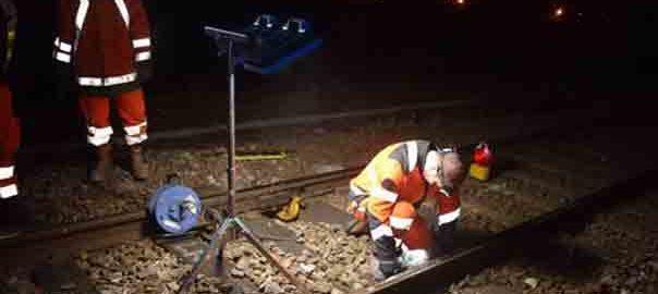eclairage chantier maintenance ferroviaire