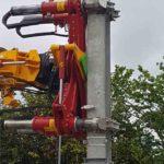 catenary handling crane