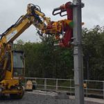 railway catenary assembly crane details