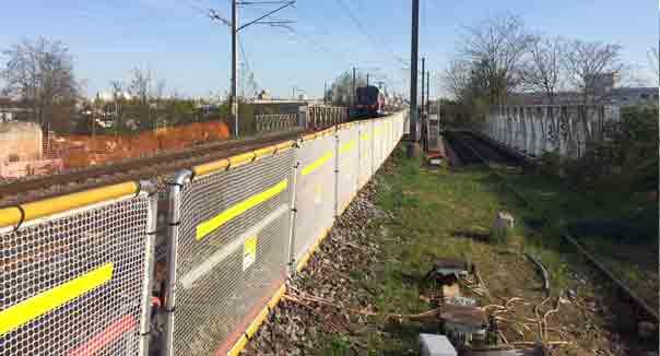barrière chantier maintenance ferroviaire