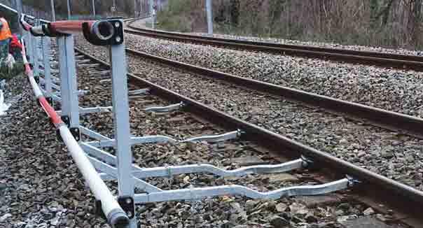 installation barrière de chantier SNCF valence