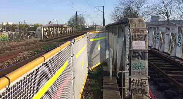 sécurisation pont ferroviaire
