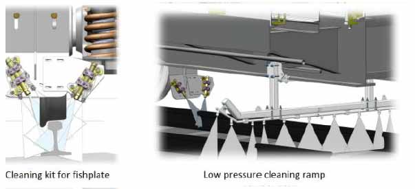 low PRESSURE CLEANING ramp for WAGON WLR 1000B