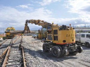 RAILROAD LOADER 30T rail transportation