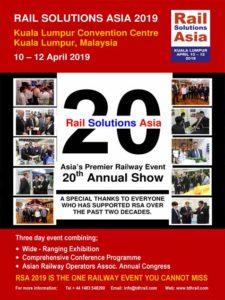 Rail solution Asia 2019