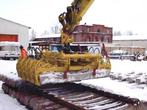 levage traverses ferroviaires ptt500 en hivers