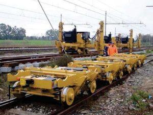 chariot de transport rail cts80