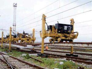 portique F40 pose rail