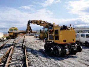 chargeur rail route 30 tonnes
