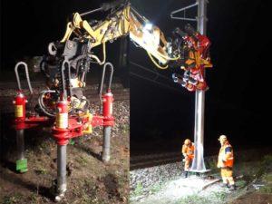manutention catenaire ferroviaire