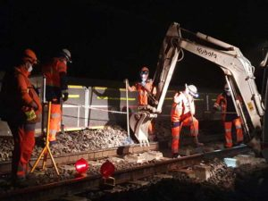 barriere protection equipe travaux nuit sncf